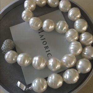 Majorica Baroque Pearl Necklace